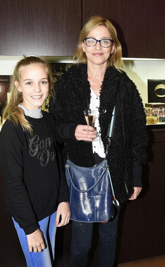 Lucie Zedníčková a její dcera Amálka