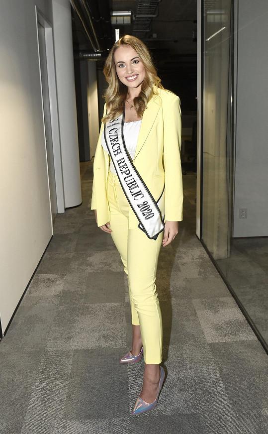 Natálie Kočendová bude Českou republiku reprezentovat na Miss International v Japonsku.