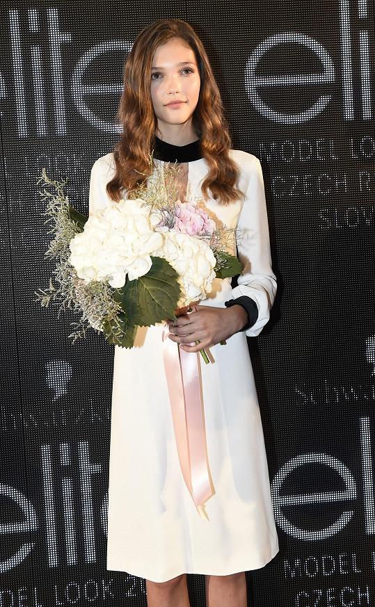 Patnáctiletá Jana Tvrdíková pojede Českou republiku reprezentovat na světové finále Elite Model Look.