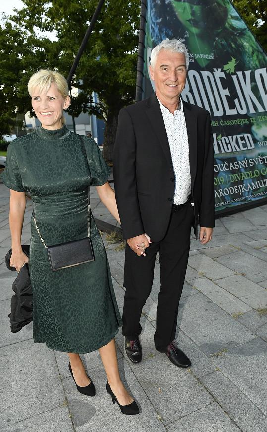 Mim Michal Nesvadba s manželkou