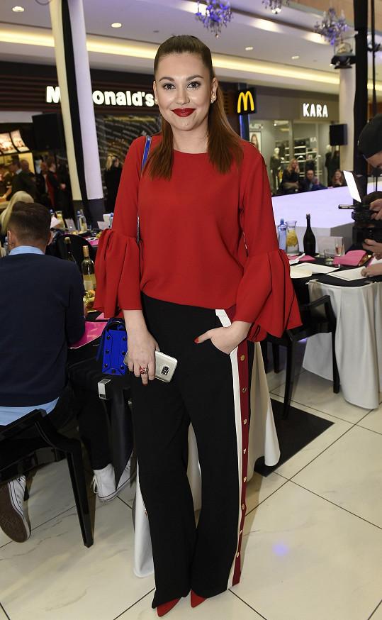 Hana Svobodová na castingu České Miss