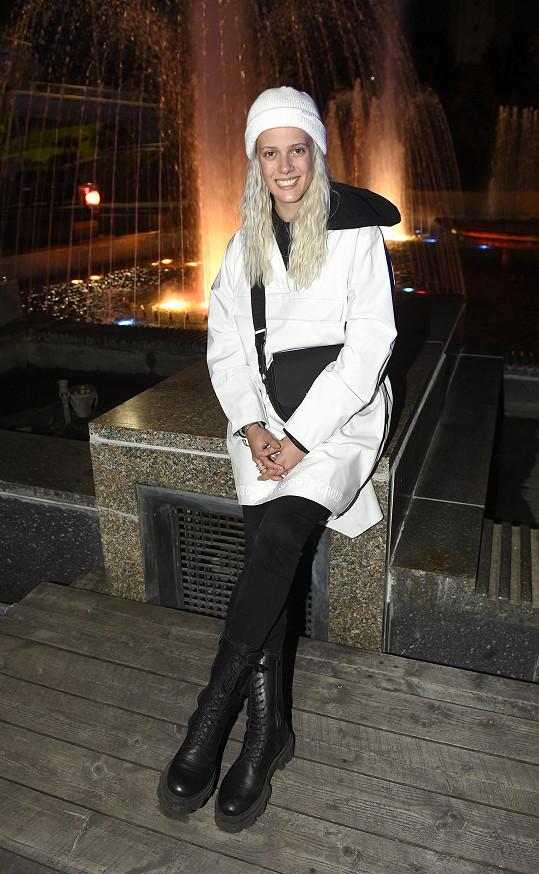 Terezie Kovalová bude součástí představení Magická fontána.