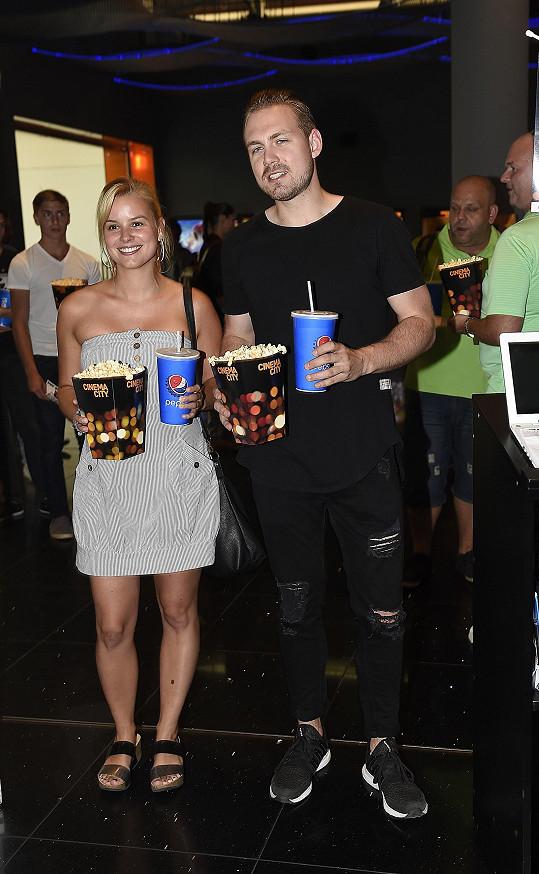 Marek a Patricie na premiéře filmu Valerian a město tisíce planet