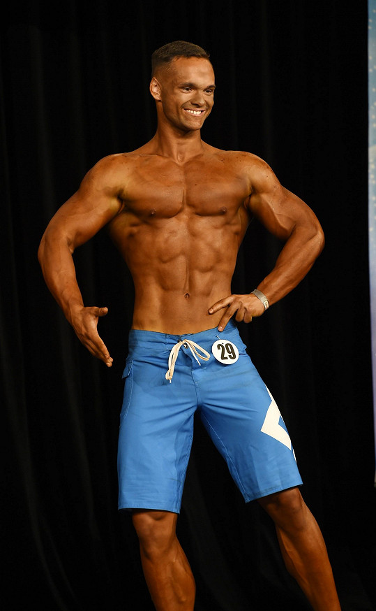 David Šebrle soutěží v Men´s Physique.