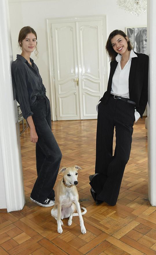 S Bárou jsem se setkali poté, co natočila film s kolegyní Evou Doležalovou.