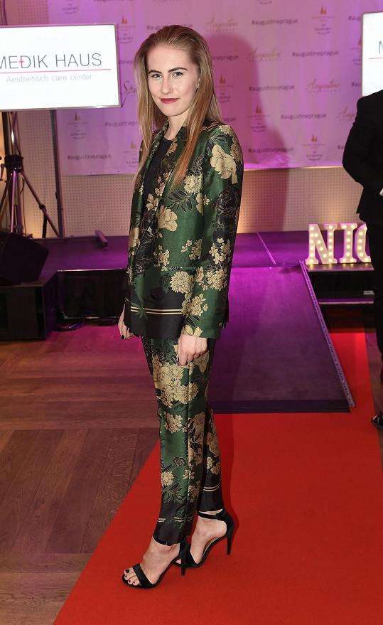 Barbora Habáňová šla svoji první módní přehlídku.