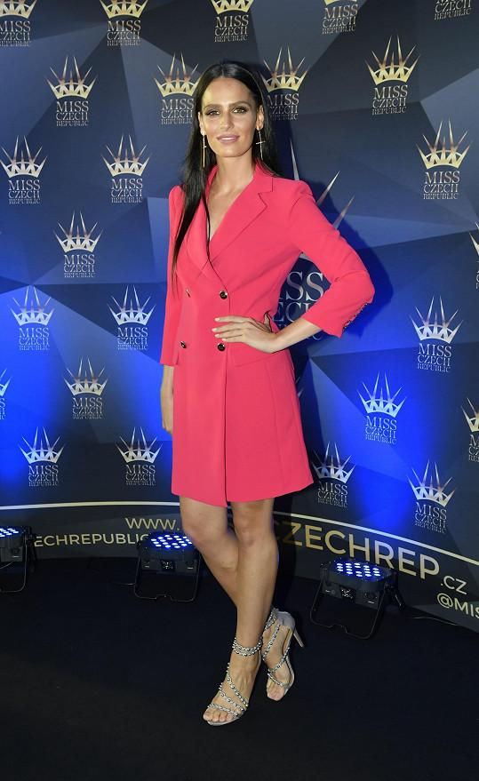 Hana byla v Miss Czech Republic pátá.