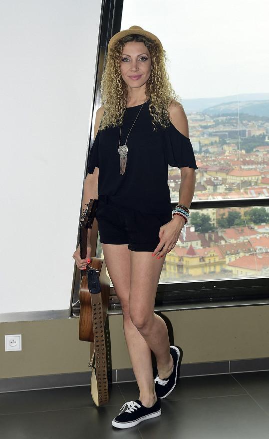 Olga po tiskové konferenci k festivalu Sázavafest