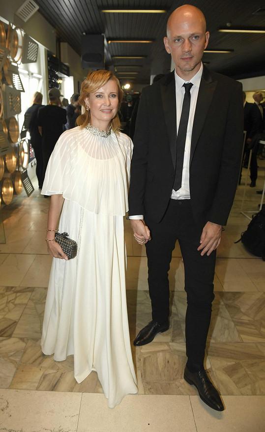 A s partnerem Lukášem Pitterem