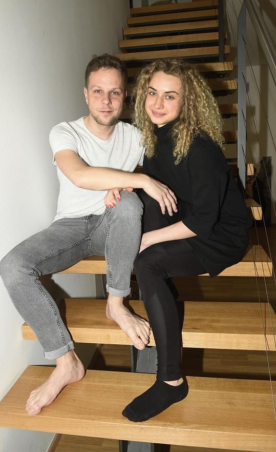 Jan Onder a Natálie Otáhalová nás pozvali k sobě domů.