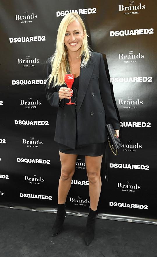 Renata na zakončení pražského fashion weeku
