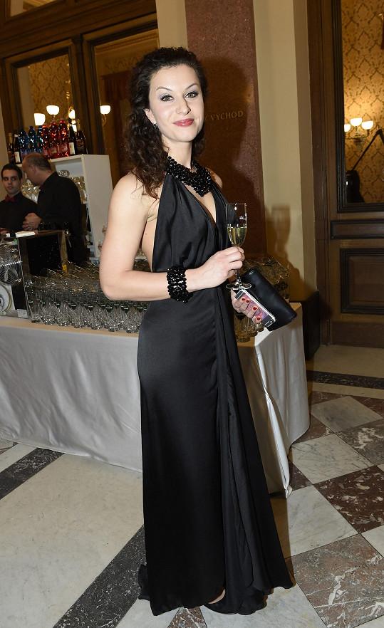 Máša Málková měla sexy model.