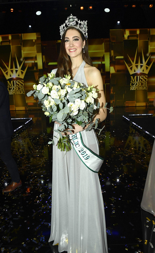 Denisa Spergerová je novou Miss Czech Republic.