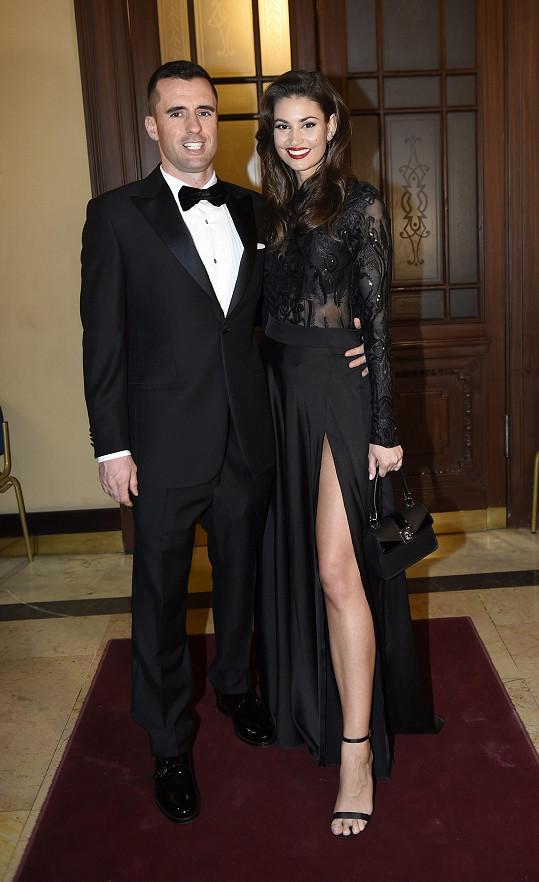 Lucie Smatanová se svým italským přítelem Gabrielem