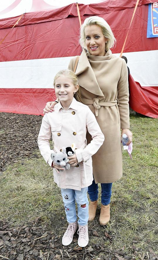 Emily s maminkou Terezou