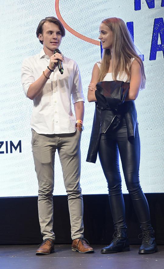V 1. misi bude jejím partnerem Filip Antonio.
