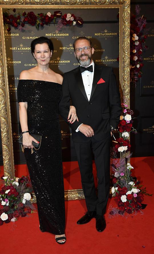 S manželem Petrem Mlenským