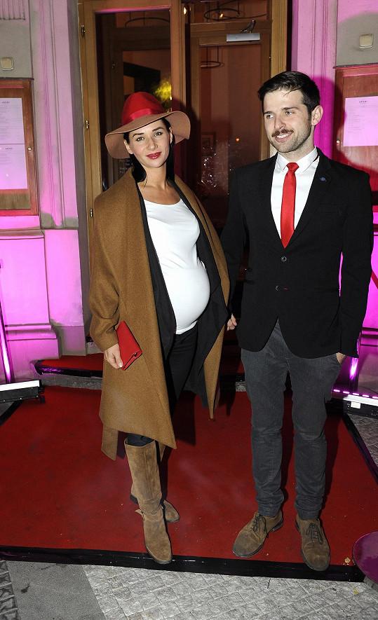Sandra Nováková a její partner Vojtěch Moravec mají syna Mikuláše.