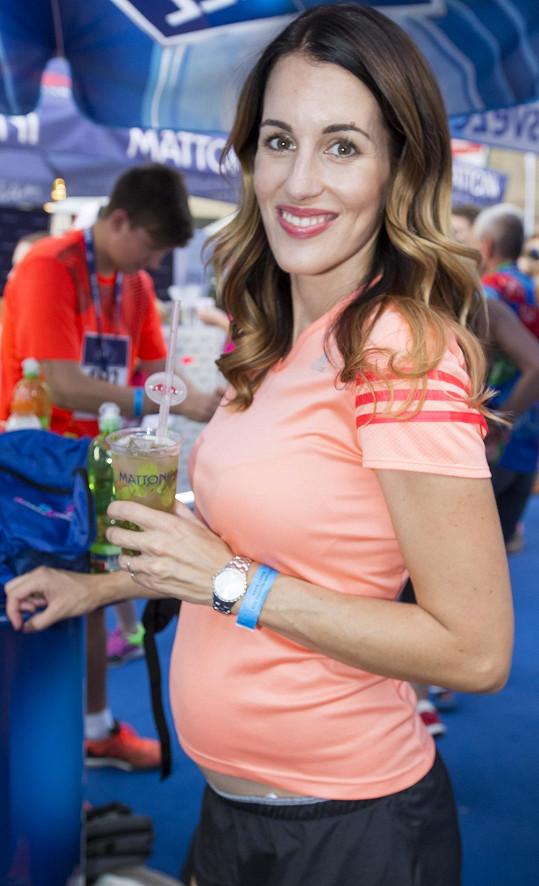 Lucie Křížková je velká sportovkyně a běh miluje, teď ale bude nějakou dobu jen fandit.