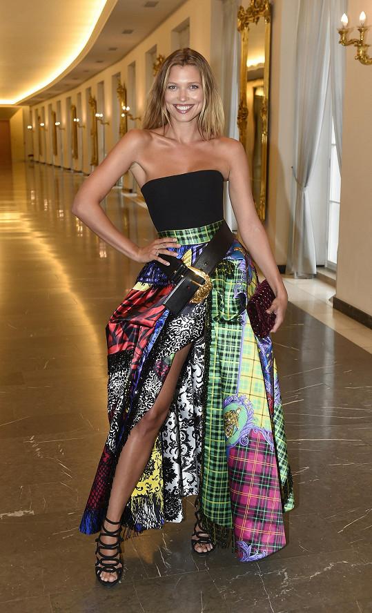 Naposledy se objevila na finále modelingové soutěže Schwarzkopf Elite Model Look.