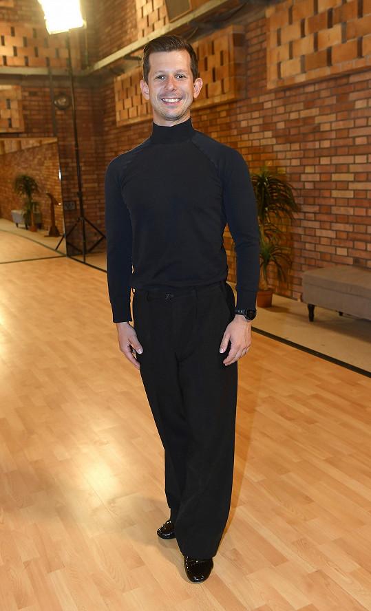Jan Kohout je dalším novým tanečníkem, který se v soutěži letos ukáže.