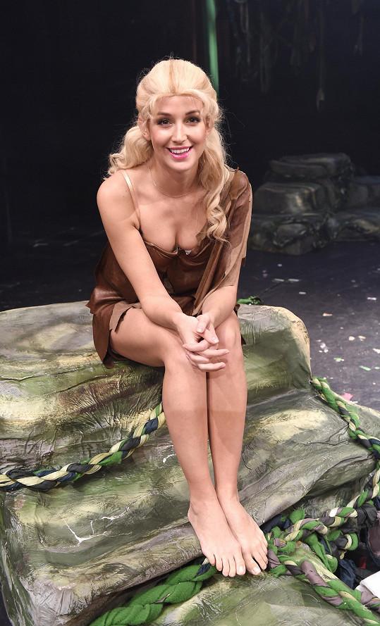 Petra hrála hlavní ženskou roli Jane.