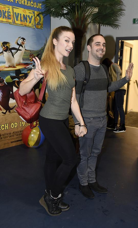 Petr s přítelkyní Markétou