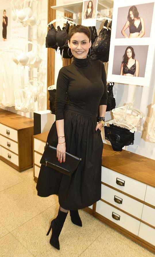 Vlaďka Erbová se rozpovídala o své práci na představení nové kolekce spodního prádla.