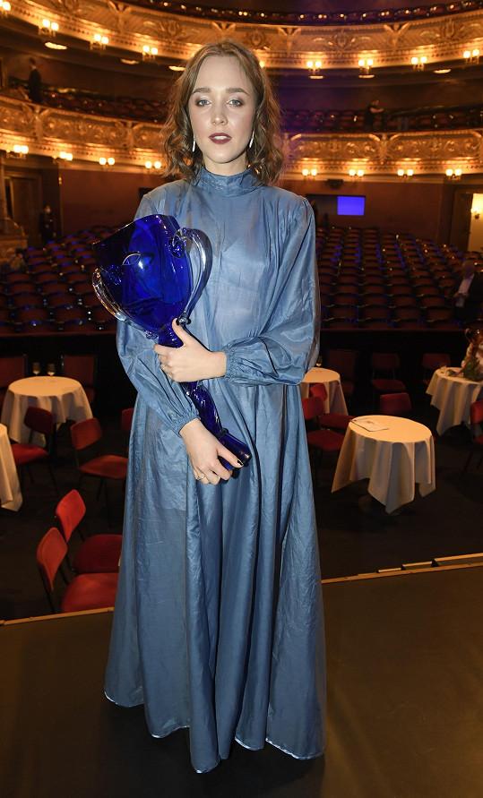 Její kolegyně ze seriálu Kukačky Denisa Barešová získala ocenění pro herce do 33 let.