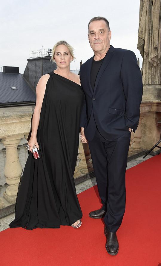 Miroslav Etzler s partnerou Helenou.