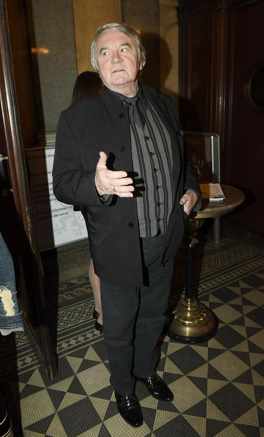 Bývalý tanečník a nyní herec Vlastimil Harapes