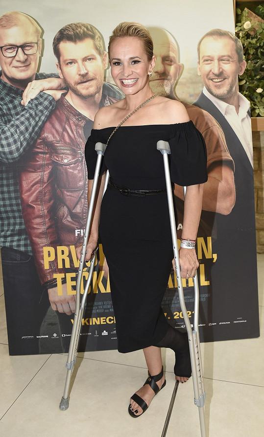 Zhubla, ač se letos potýkala se zlomenou nohou.