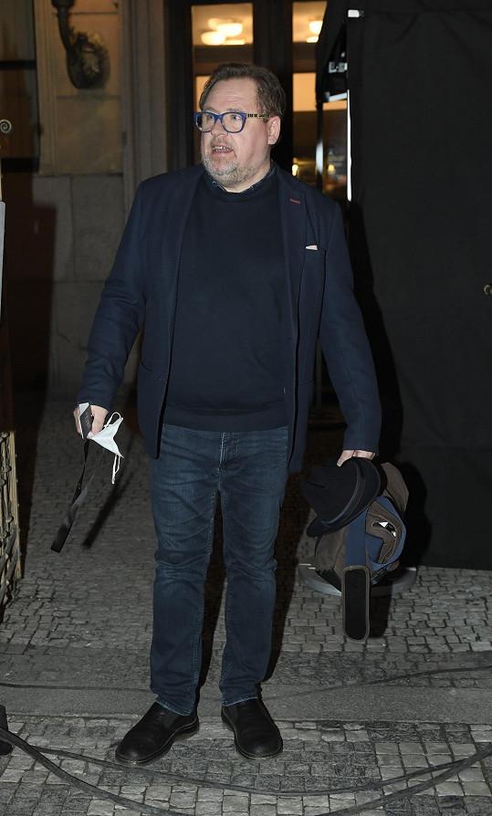 Václav Kopta byl opět moderátorem slavnostního večera.
