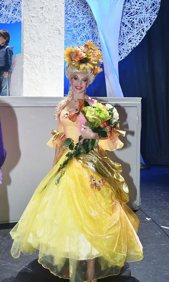 Sabina Laurinová hraje v muzikálu jednu z hlavních rolí.
