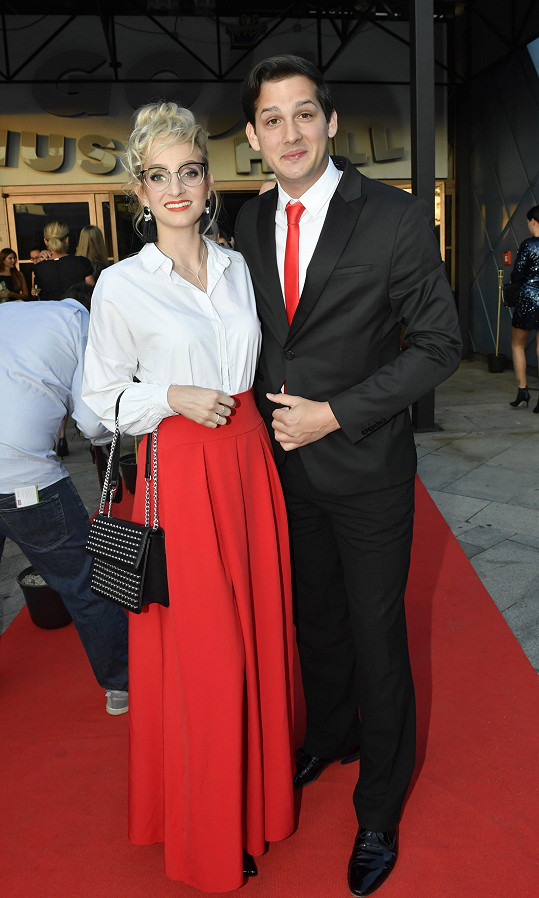 Sporťák Martin Čermák s přítelkyní Martinou