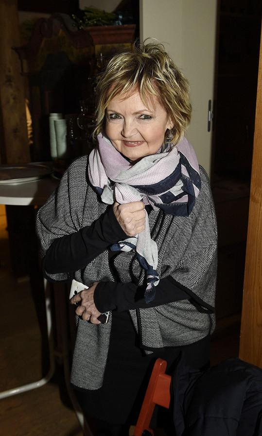Eva Hrušková oslaví 50 let od natáčení pohádky Popelka.