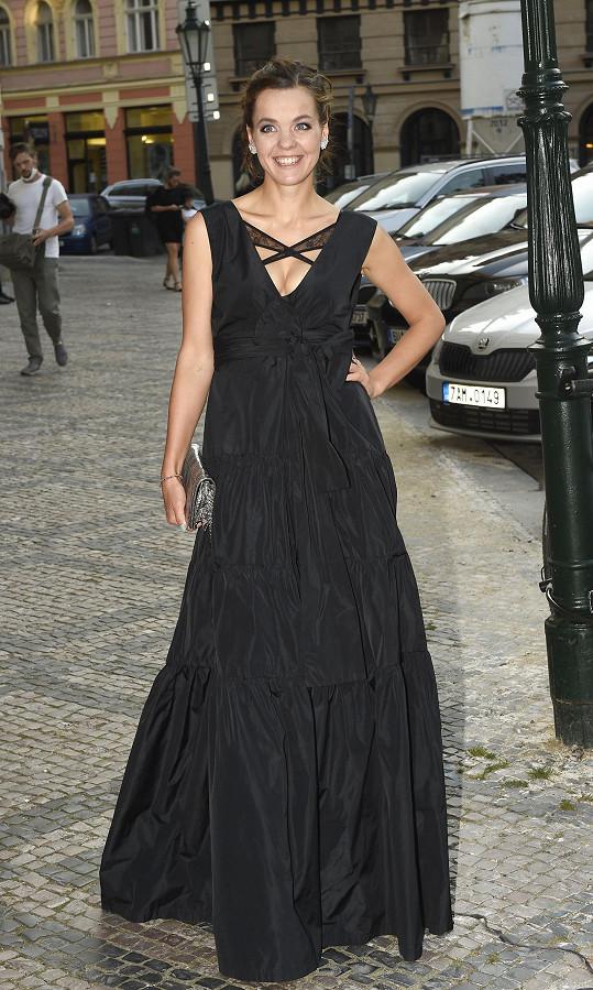 Lilia Khousnoutdinová byla v modelu od Tatiany Kovaříkové hodně sexy.