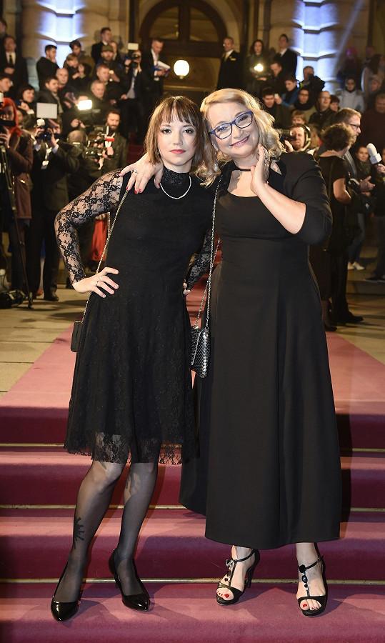 S dcerou Terezou Nvotovou, jejíž prvotina Špína zaujala filmovou akademii.
