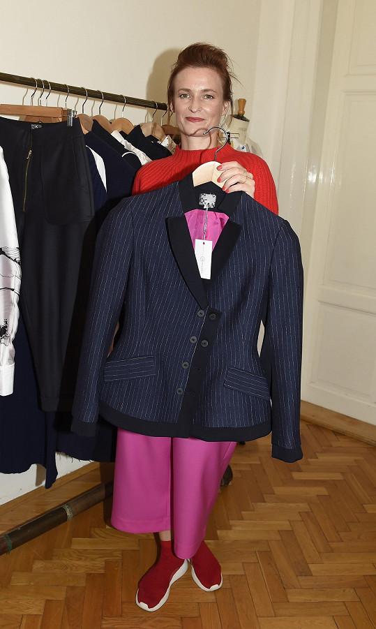 Uznávaná návrhářka Kateřina Geislerová prezentovala svou kolekci pro tento podzim a zimu.