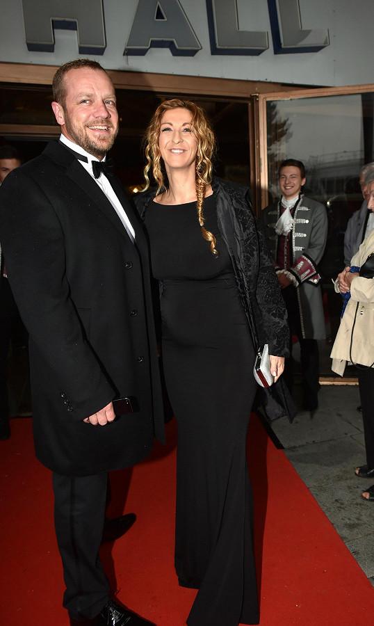 Filip Blažek s manželkou Jolanou