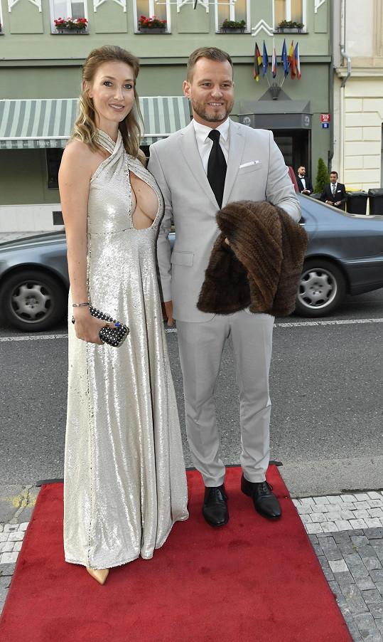 Dominika s partnerem Tomášem