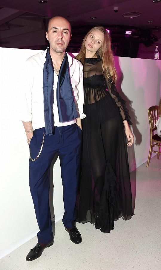 S návrhářem Francescem Scognamigliem