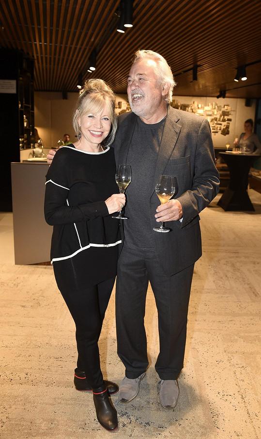 S manželem Pavlem Satoriem