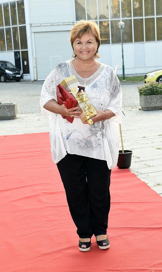 Dorazila zpěvačka Hana Křížková.