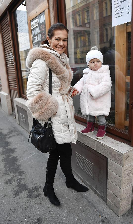 Jana Doleželová s dcerou Verunkou