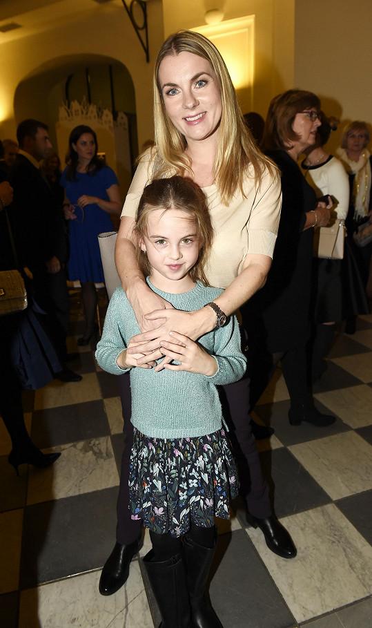 S osmiletou dcerou Karlou