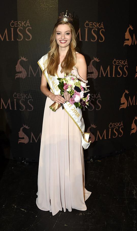 Stala se třetí nejkrásnější Češkou v nejprestižnější soutěži krásy.