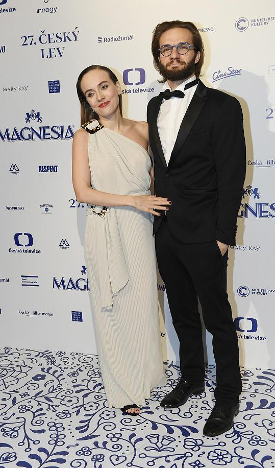 Tereza s manželem Matyášem Rambou