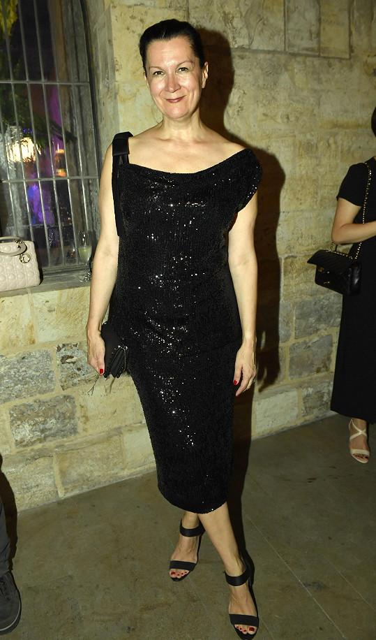 Mezi hosty nechyběla módní návrhářka Tatiana Kovaříková.