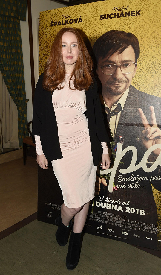 Alena Doláková si zahrála ve filmové komedii Pepa.